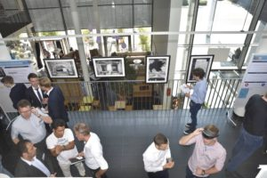 Every year, innovative projects are presented at the Innovation Research Lab Exhibition. (Image: FAU/Christina Dworak)
