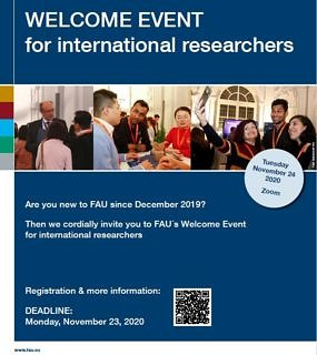 "Towards entry ""Welcome Event for international researchers"""
