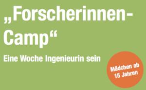 Logo Forscherinnencamp